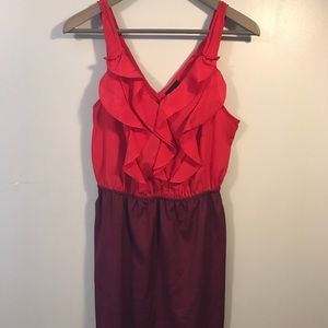 Mossimo Small Red Wine dress